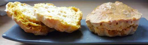 Scones potiron orange
